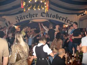 E99 Freitagsclub am Oktoberfest in Zürich