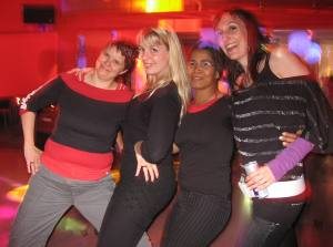 Girls im Marquee Club in Zürich beim Central