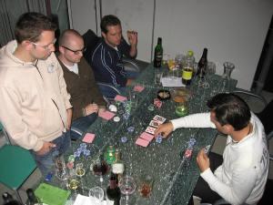 Foto von der Grill- und Pokerparty bei An-Diii