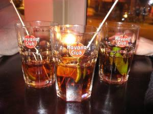 Cuba Libre Gläser mit Havana Club Rum