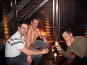 Fritigsclub in der Labor Bar von Aeschbacher in Zürich