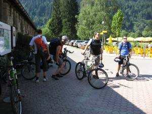 Foto vom Bike Weekend 2007 im Tessin